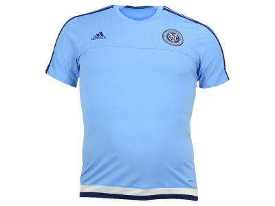 New York City FC adidas MLS Men's Pre-Game Training Shirt