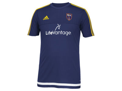Real Salt Lake adidas MLS Men's Pre-Game Training Shirt