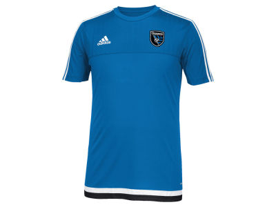 San Jose Earthquakes adidas MLS Men's Pre-Game Training Shirt