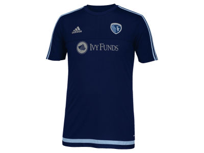 Sporting Kansas City adidas MLS Men's Pre-Game Training Shirt