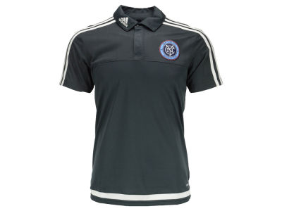 New York City FC adidas MLS Men's Training Polo Shirt