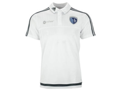 Sporting Kansas City adidas MLS Men's Training Polo Shirt