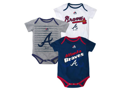 Atlanta Braves MLB Newborn  TP 3-Piece Set