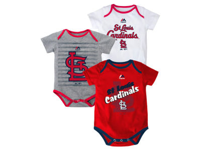 St. Louis Cardinals MLB Newborn  TP 3-Piece Set