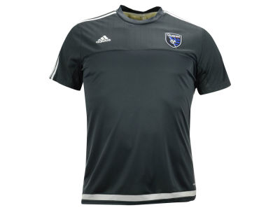 San Jose Earthquakes adidas MLS Training Top
