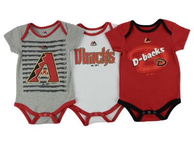 Arizona Diamondbacks MLB Newborn  TP 3-Piece Set