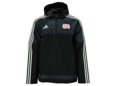 New England Revolution adidas MLS Men's Coaches Sideline Jacket