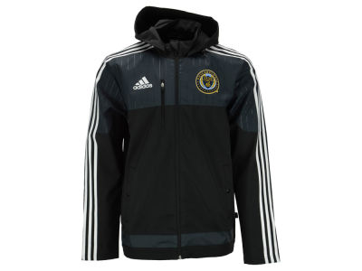 Philadelphia Union adidas MLS Men's Coaches Sideline Jacket