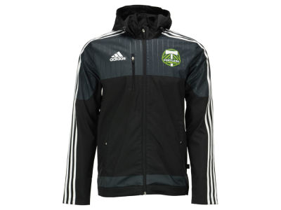 Portland Timbers adidas MLS Men's Coaches Sideline Jacket