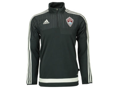 Colorado Rapids adidas MLS Men's Half Zip PO Training Fleece LM15