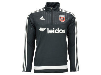 DC United adidas MLS Men's Half Zip PO Training Fleece LM15