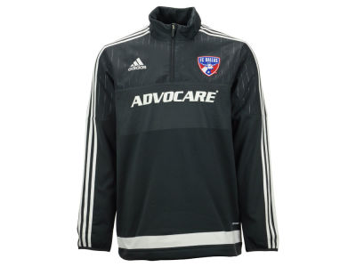 FC Dallas adidas MLS Men's Half Zip PO Training Fleece LM15