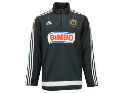 Philadelphia Union adidas MLS Men's Half Zip PO Training Fleece LM15