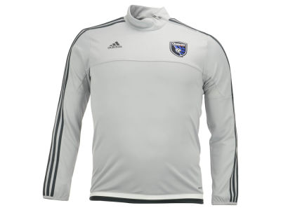 San Jose Earthquakes adidas MLS Long Sleeve Training Top