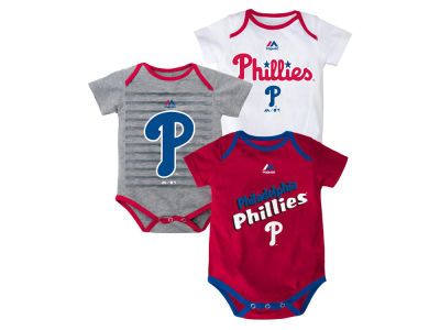 Philadelphia Phillies MLB Newborn  TP 3-Piece Set