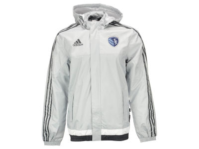Sporting Kansas City adidas MLS Men's Rain Jacket