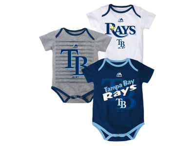 Tampa Bay Rays MLB Newborn  TP 3-Piece Set