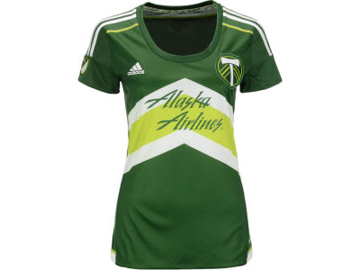 Portland Timbers adidas MLS Women's Primary Replica Jersey