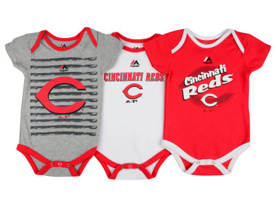 Cincinnati Reds MLB Newborn  TP 3-Piece Set