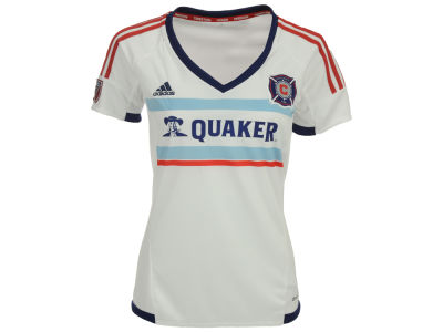 Chicago Fire adidas MLS Women's Short Sleeve Secondary Replica Jersey