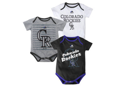 Colorado Rockies MLB Newborn  TP 3-Piece Set