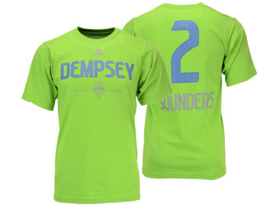 Seattle Sounders FC Clint Dempsey adidas MLS Authentic Graphic T-Shirt