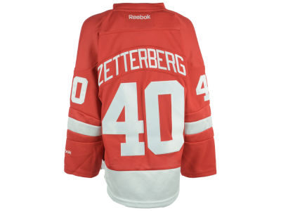 Detroit Red Wings Henrik Zetterberg NHL Youth Premier Jersey