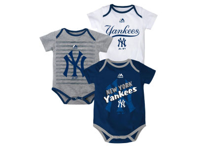 New York Yankees MLB Newborn  TP 3-Piece Set