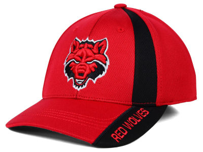 Arkansas State Red Wolves Top of the World NCAA Tee Box M-Fit Cap