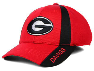 Georgia Bulldogs Top of the World NCAA Tee Box M-Fit Cap