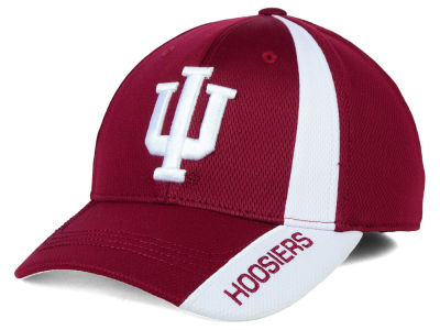 Indiana Hoosiers Top of the World NCAA Tee Box M-Fit Cap