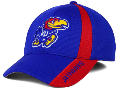 Kansas Jayhawks Top of the World NCAA Tee Box M-Fit Cap