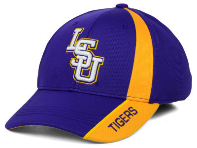 LSU Tigers Top of the World NCAA Tee Box M-Fit Cap