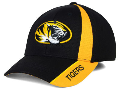 Missouri Tigers Top of the World NCAA Tee Box M-Fit Cap