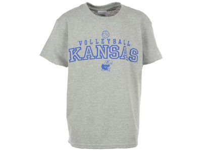 Kansas Jayhawks NCAA Youth Volleyball T-Shirt
