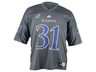 Kansas Jayhawks adidas NCAA Men's Replica Football Alternate Jersey
