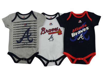 Atlanta Braves MLB Infant 2015 TP 3 Piece Set