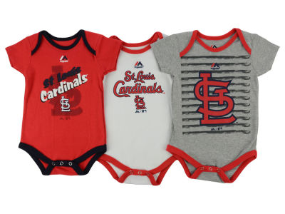 St. Louis Cardinals MLB Infant Team Player 3-piece Set