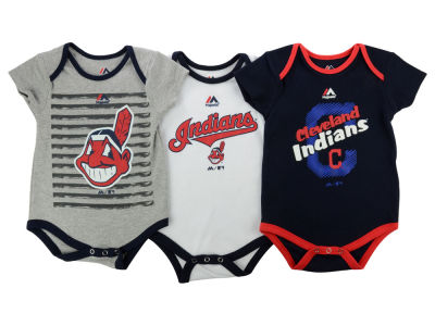 Cleveland Indians MLB Infant 2015 TP 3 Piece Set
