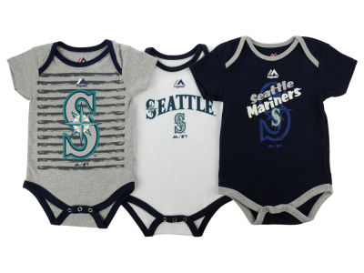 Seattle Mariners MLB Infant 2015 TP 3 Piece Set