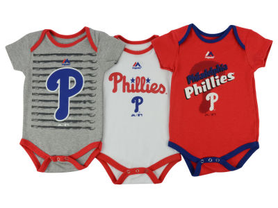 Philadelphia Phillies MLB Infant 2015 TP 3 Piece Set