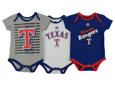 Texas Rangers MLB Infant 2015 TP 3 Piece Set