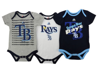 Tampa Bay Rays MLB Infant 2015 TP 3 Piece Set