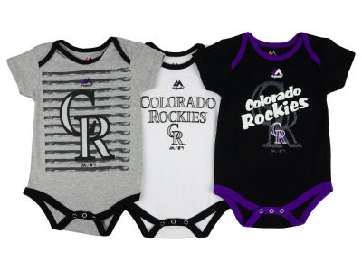 Colorado Rockies MLB Infant 2015 TP 3 Piece Set