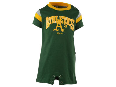 Oakland Athletics MLB Newborn Batter Romper