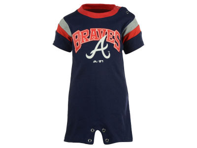 Atlanta Braves MLB Newborn Batter Romper
