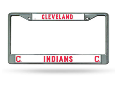 Cleveland Indians Chrome Frame