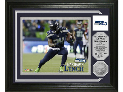 Seattle Seahawks Marshawn Lynch Photo Mint Coin-Bronze