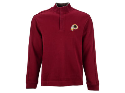 Washington Redskins NFL Men's Fulltime Pima Snap Placket Overknit Pullover