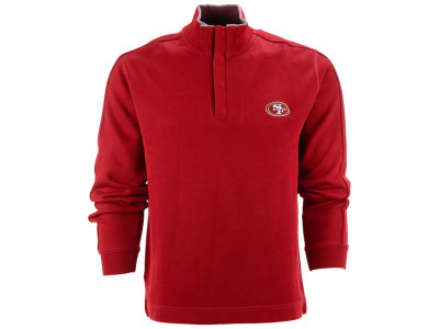 San Francisco 49ers NFL Men's Fulltime Pima Snap Placket Overknit Pullover